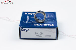 "KOYO B-105 Needle Roller Bearing No Oil Hole B105 5/8"" x 13/16"" x 5/16"" Japan"