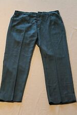 """Vintage Levis Sta Prest Blue Pants Slacks Measure-38""""x31"""" Talon Zipper"""