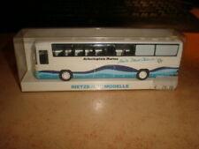 Rietze #60206 HO 1/87 MB bus Arbeitsplatz Marine  Nütz deine Chance MIB (50/021)