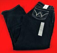 Womens Wrangler Mae Booty Up Western Premium Jeans Dark 10MWZBR 00x34