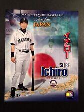 ICHIRO SUZUKI Major League Baseball STARS FROM JAPAN 8x10 PHOTO Seattle Mariners