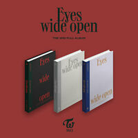 TWICE - Eyes wide open 2nd Regular KPOP Album CD+Photobook+Message Card+Sticker
