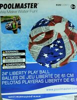 Swimming Pool Beach Ball Stars Stripes Patriotic 24 inch Inflatable