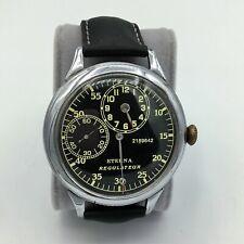 Vintage Eterna Regulateur Mens Wrist Watch Serial Number 2189642 Running
