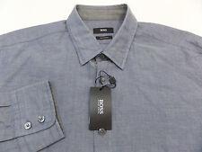 Mens Hugo Boss CASUAL OR DRESS SHIRT Lukas SZ XL  Regular Fit NWT MSRP $145.00