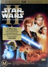 STAR WARS: Episode 2-II - Attack Of The Clones DVD ACADEMY AWARD Nom. 2-DISCS R4