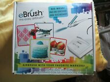 EBRUSH by Craftwell spray art system   Art, cooking, clothes many diff crafts