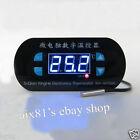 12V/24V Digital Temperature Control Switch Heat Cool Temp Thermostat Controller