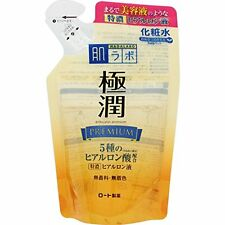 Rohto Hadalabo Gokujun Premium Hyaluronic Lotion 170 mL Refill  From Japan F/S