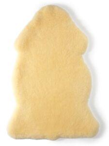 Hofbrucker Baby Lammfell Naturprodukt medizinisch gegerbt gold-beige
