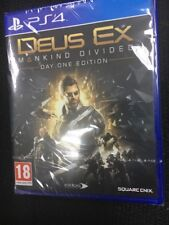 DEUS EX MANKIND DIVIDED DAY ONE BRAND PS4 Sony PlayStation 4 New