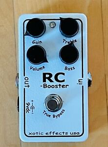 Xotic RC Booster Overdrive Guitar Effect Pedal - Excellent Condition