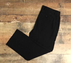 FootJoy Golf Performance Pants Black Polyester Spandex Men's Size 38x30 EUC B61