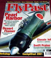 Flypast Magazine 2001 August Hawker Hunter,Supermarine Swift,West Midlands