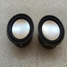 2pcs 40mm Lautsprecher Audio Stereo Woofer 40HM 3W Full Range Lautsprecher