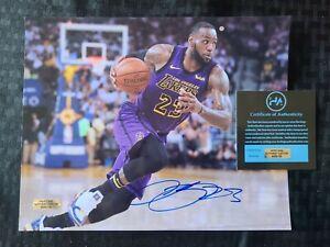 Lebron James Autographed 8x10 Photo Signed NBA Los Angeles Lakers - COA
