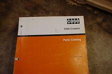 CASE 1550 Tractor Dozer Crawler Parts Manual book catalog list spare 1987 guide