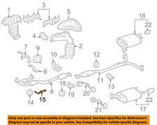 TOYOTA OEM 07-11 Camry Exhaust-Intermed Pipe Bracket 1757331020