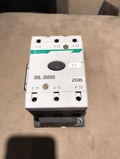 Moeller DIL 3M80 DIL M 820-XHI Magnetic Contactor Starter 230V Coil