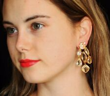 Kate Spade Crystal Ridiculously Gorgeous Champagne Chandelier Drop Earrings