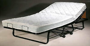 LuxurGuest Rollaway Guest Bed w/ mattress