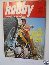 HOBBY 1970-24, TEST HERCULES WANKEL 2000,OPAS SKISCHULE,SPIELWAREN,BENNER SKI