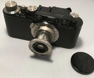 Leitz Wetzlar - Leica II black Nr. 85581 Elmar 3,5/50 sehr schön !
