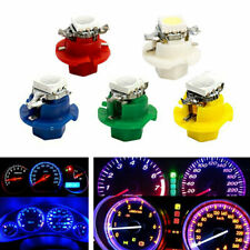T5 B8.4D 1SMD 5050 50Pcs LED Indicator Gauge Cluster Dash Dashboard Side Lights