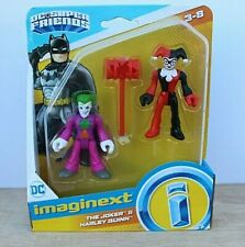 Imaginext DC Super Friends The Joker and Harley Quinn Action Figure New in Box