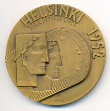 Finland Olympic Games Helsinki 1952 Official Participation Bronze Medal RARE