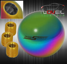 Universal 2 Interior Round Ball Type Mt Manual 5 Speed Gear Shift Knob Kit Neo Fits Chevy