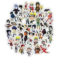 50PCS/Set Naruto Anime Suitcase Waterproof Car Stickers Vogue AaGVx