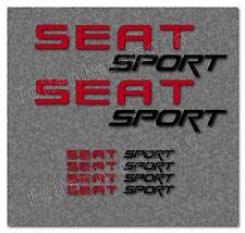 Seat Sport 12-tlg Aufkleber Set Cupra Leon Toledo --30 Farben-- Seat 011