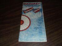 1934 NIAGARA FALLS GRAY LINE TROLLEY AND MOTOR COACH MAP AND BROCHURE