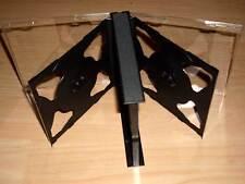 5 CD Hüllen schwarz durchsichtig für 6 CDs oder DVDs aufklappbar Box Case Neu