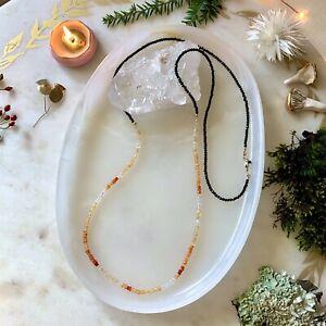 Fire Opal 14K Gold Filled Handmade Sundance Garden Necklace
