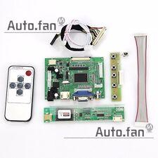 "for LP133WX1(TL)(A1) LTN133AT 13.3"" inch  Controller Driver Board(HDMI+VGA+2AV)"