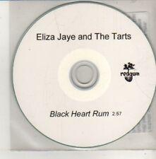 (CM556) Eliza Jaye And The Tarts, Black Heart Rum - DJ CD