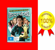 SCRUBS, LIKE NEW,  COMPLETE SECOND SEASON 2,  4-DISC DVD SET