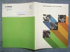 1970 SYBRON CORPORATION ANNUAL REPORT