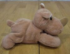Fiesta Super Soft Tan Rhinoceros Plush Stuffed Animal