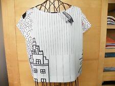 Top /Tee-Shirt - Cop Copine - Modèle: DESSIN - Taille 36 - Neuf + étiquette