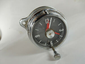 Vintage Ford Cobra Shelby Clock 1963-67 Genuine FoMoCo Part, Dated 1963