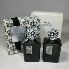 Mr K Silver Set Cologne And After Shave By Mary Kay Vintage Never Used
