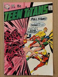 Teen Titans #22 Origin of Wonder Girl DC 1969 VG+