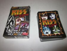 KISS card matching game Gene Simmons complete 54 cards