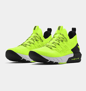 2021 Dwayne Johnson Yellow Under Armour Men's UA  Project Rock 3 Training Shoes