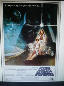 STAR WARS, orig rolled Japanese movie poster [1982] / made for American military