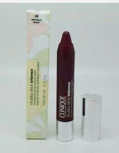 NEW Clinique Chubby Stick Intense Moisturizing Lip Color Balm 08 Grandest Grape