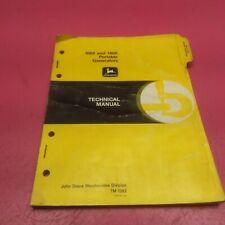 John Deere 1000 And 1400 Portable Generators Technical Manual Tm1382 Lt7